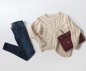 asian fashion, kfashion, and fashion image