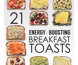 breakfast, delicious, and diy image