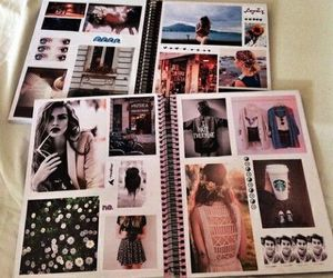 book, diy, and Collage image