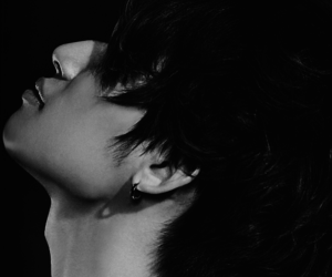 black and white, VIP, and daesung image