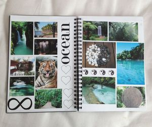 ocean, tumblr, and notebook image