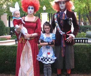 alice in wonderland and Halloween image