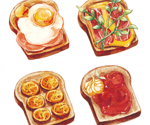 food and art image