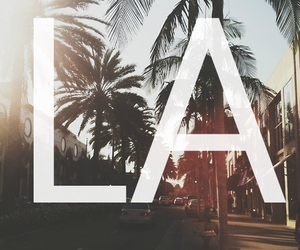 la, los angeles, and summer image