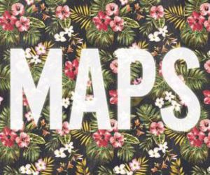 maps, maroon 5, and music image
