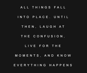 quotes, black and white, and life image