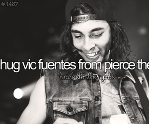 hugs, pierce the veil, and vic fuentes image