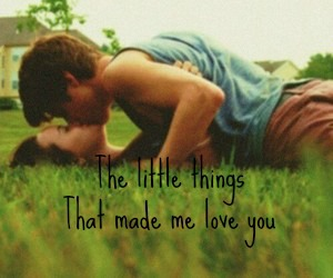 grass, little, and romance image