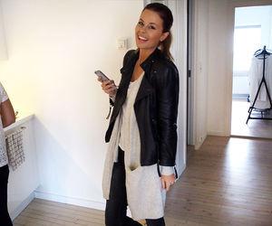 happygirl, leatherjacket, and nettenestea image