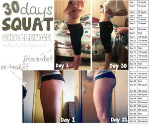squats, fitness, and workout image