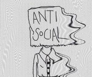 antisocial, grunge, and anti social image