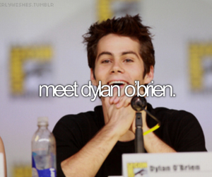 dylan o'brien, teen wolf, and before i die image