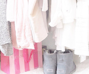 closet, clothes, and uggs image