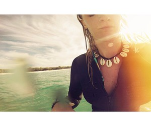 accesories, beach, and girl image