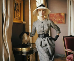 1950s and Christian Dior image