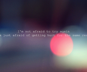 afraid, disappointment, and qoute image