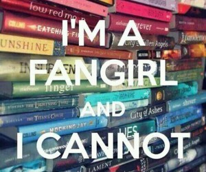 books, fangirl, and keep calm image