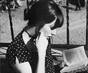 jane birkin, girl, and book image