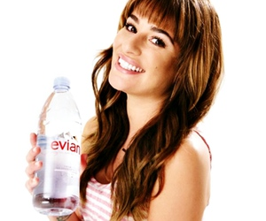 lea michele, glee, and evian image