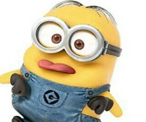 minions, funny, and yellow image