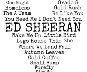 ed sheeran, song, and ed image