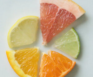 fruit, orange, and lemon image