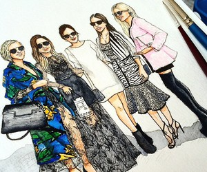 art, blogger, and chanel image