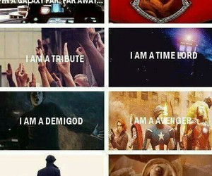 harry potter, percy jackson, and doctor who image