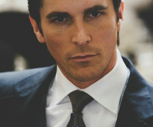 christian bale, batman, and handsome image