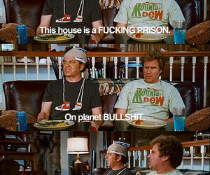 funny, step brothers, and movie image