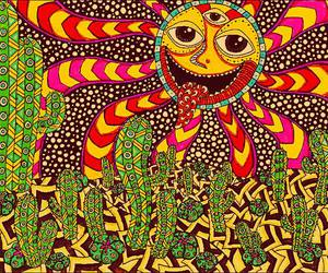 drugs, trippy, and pyschedelic image