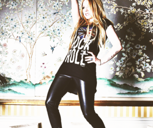Avril Lavigne, blonde, and hair image