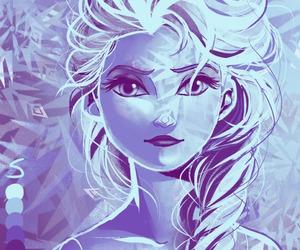 elsa, frozen, and beautiful image