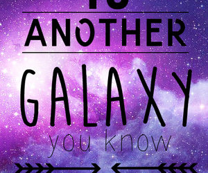 galaxy, quotes, and rude image
