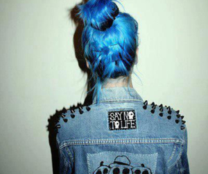 blue, fashion, and cool image