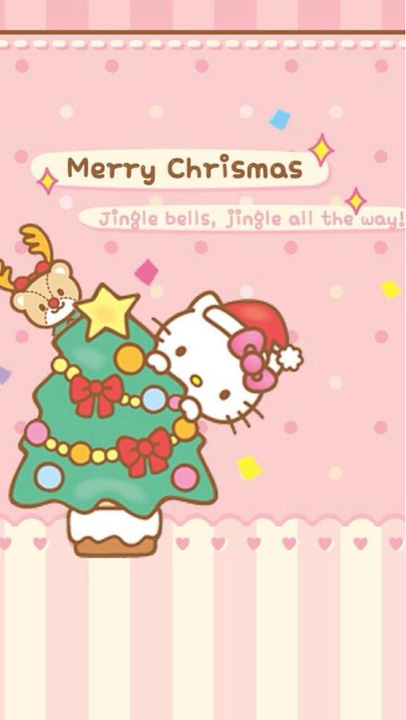 Hello Kitty Merry Christmas.Merry Christmas Hello Kitty On We Heart It