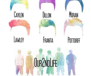 jc caylen, sam pottoroff, and kian lawley image
