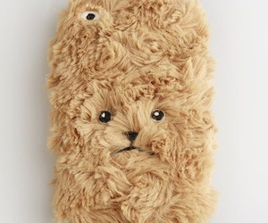 bear, cute iphone case, and fluffy image