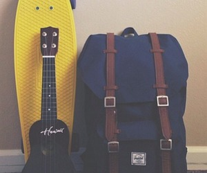 cool, bag, and guitar image