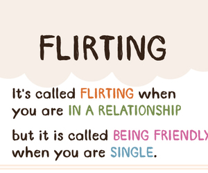 flirting, quotes, and Relationship image