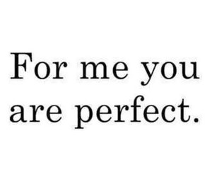 love, perfect, and you image