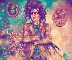 hipster and scissorhands image