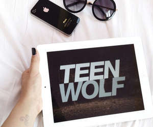 teen wolf, iphone, and ipad image