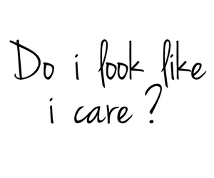 ?, care, and careless image