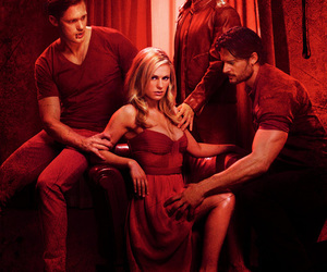 true blood, bill, and eric image