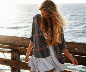 girl, beautiful, and fashion image