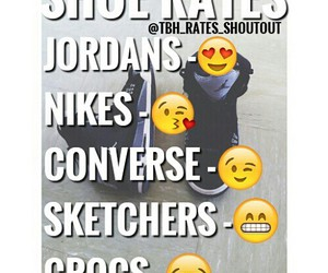 converse, crocs, and nike image