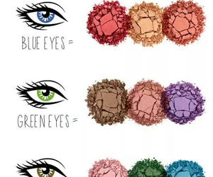 beauty, colour, and green eyes image