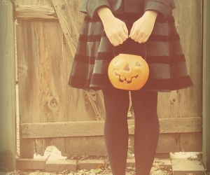Halloween, vintage, and calabaza image