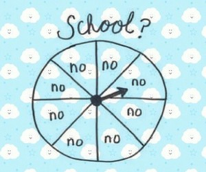 school, no, and wallpaper image